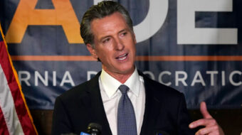 California unions cheer big Newsom win