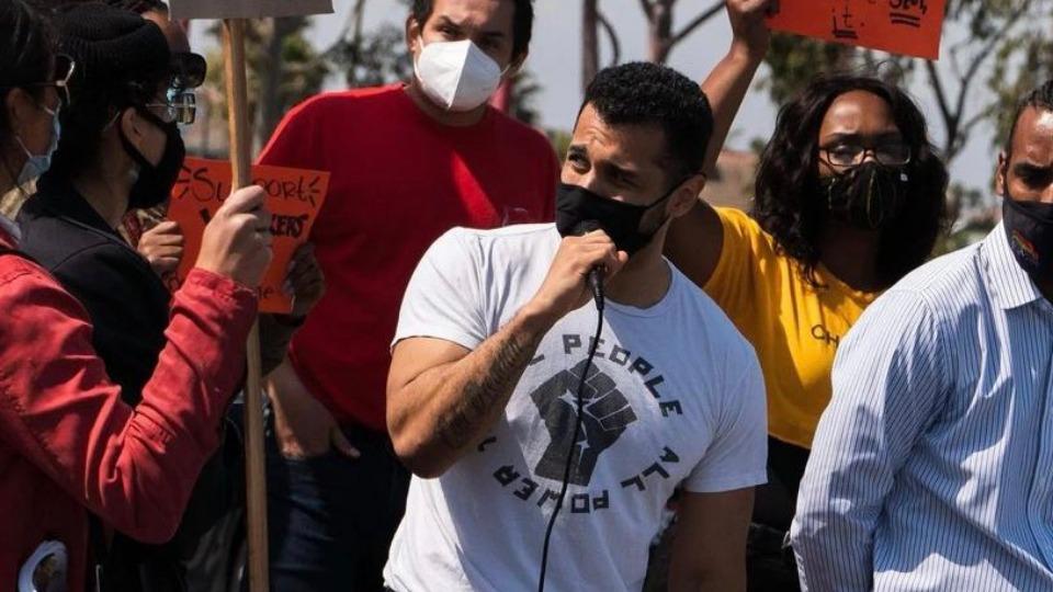 Steven Estrada, Army veteran and Communist, running for Long Beach City Council