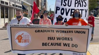 Graduate Workers Union fights on at Illinois State University