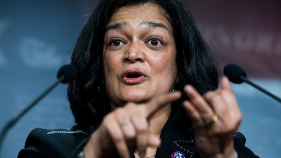 Jayapal and Progressive Caucus hold the line against corporate Democrats