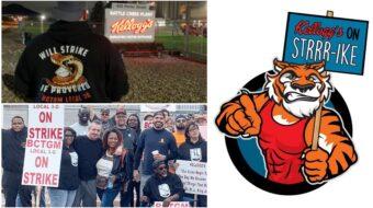 Kellogg's obliga a 1.400 trabajadores de plantas de cereales a hacer huelga