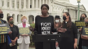 Poor People's Campaign petitions demand Build Back Better's passage