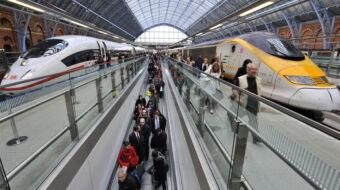 All aboard: Young environmentalists organize COP26 'climate train'