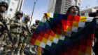 Coup figurehead drops out as Morales's Socialists set to win Bolivian presidency