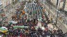 French Farmers protest fertilizer tax