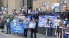 DeJoy's Minneapolis visit prompts postal workers to protest his plans