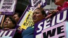 Hundreds of union janitors fired under pressure from Feds